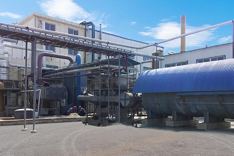 Production device-Burning sulfur system