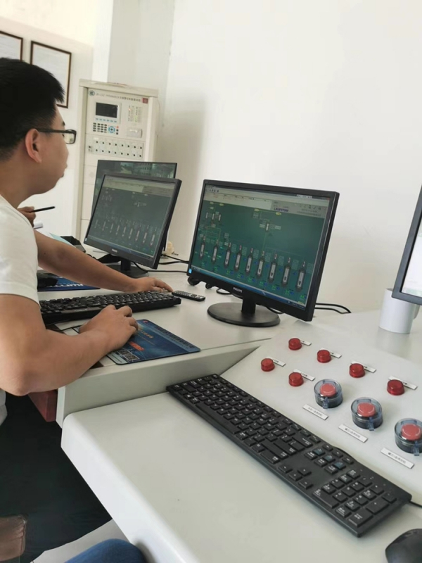 Production device-DCS